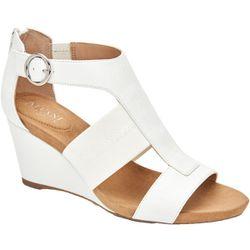 Alfani Womens Wedges White Size 7 Medium (B,M) Thumbnail