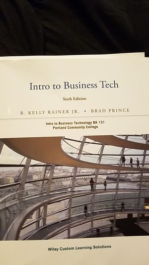 Intro to business Tech 6th ed. for Sale in Portland, OR