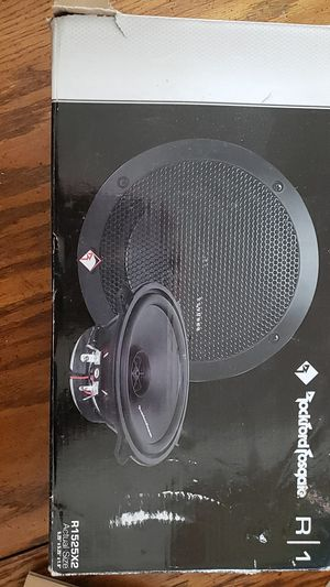 Photo Rockford Fosgate R1 car/ truck speakers