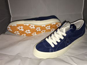 Men's Golf le Fleur Shoes size 13 Tyler the Creator Blue Sneakers Navy New for Sale in Alexandria, VA