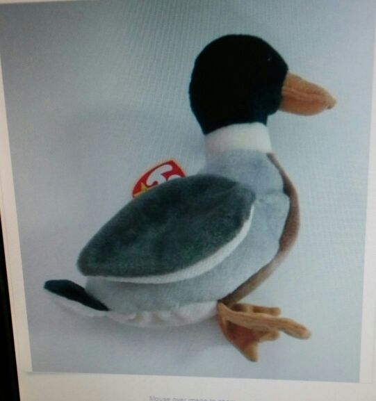 ce885bc9454 Ty Beanie Baby era rare retiredment Jake the Drake for Sale in Tampa ...