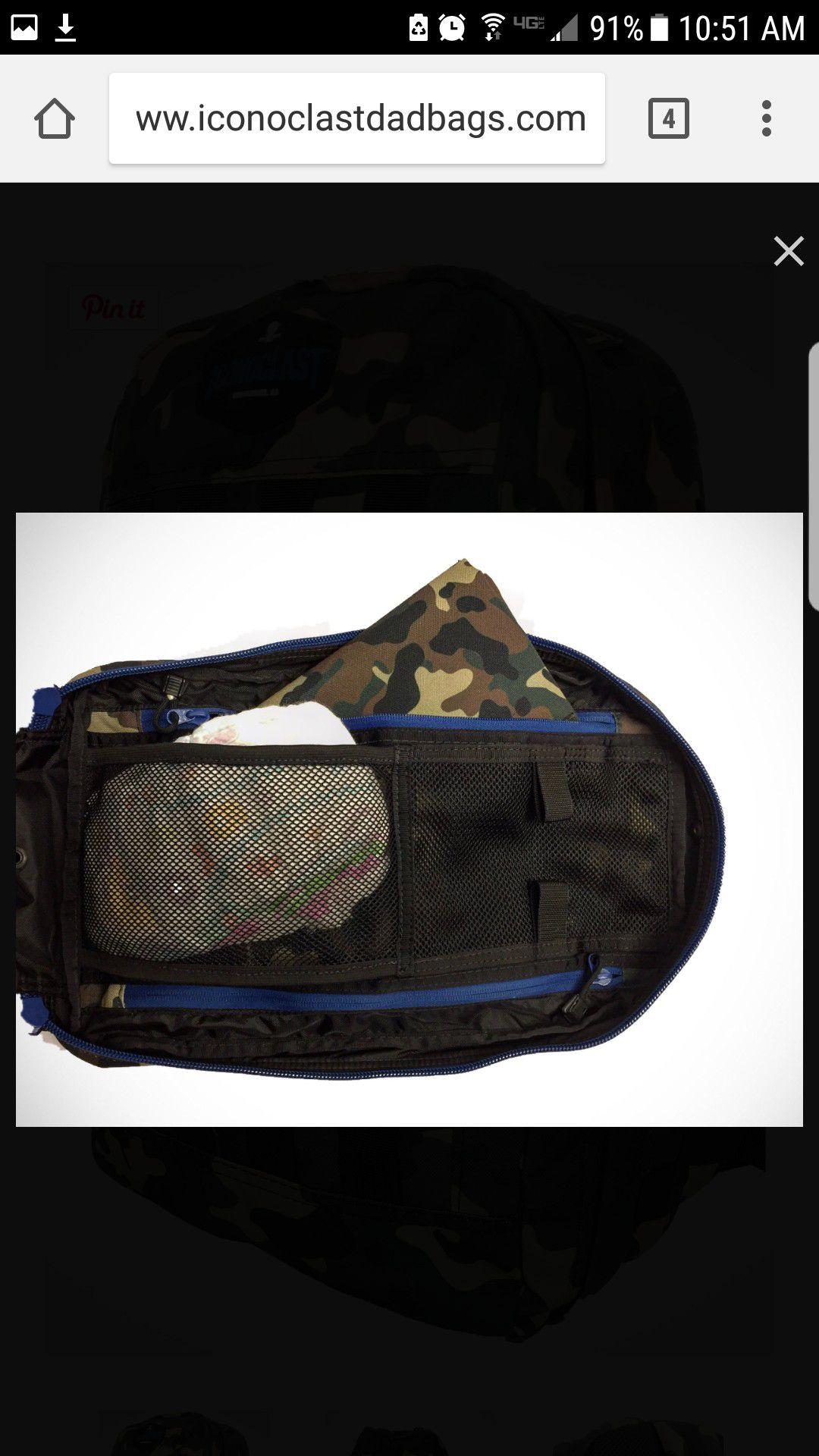 Iconoclast Dad Bag