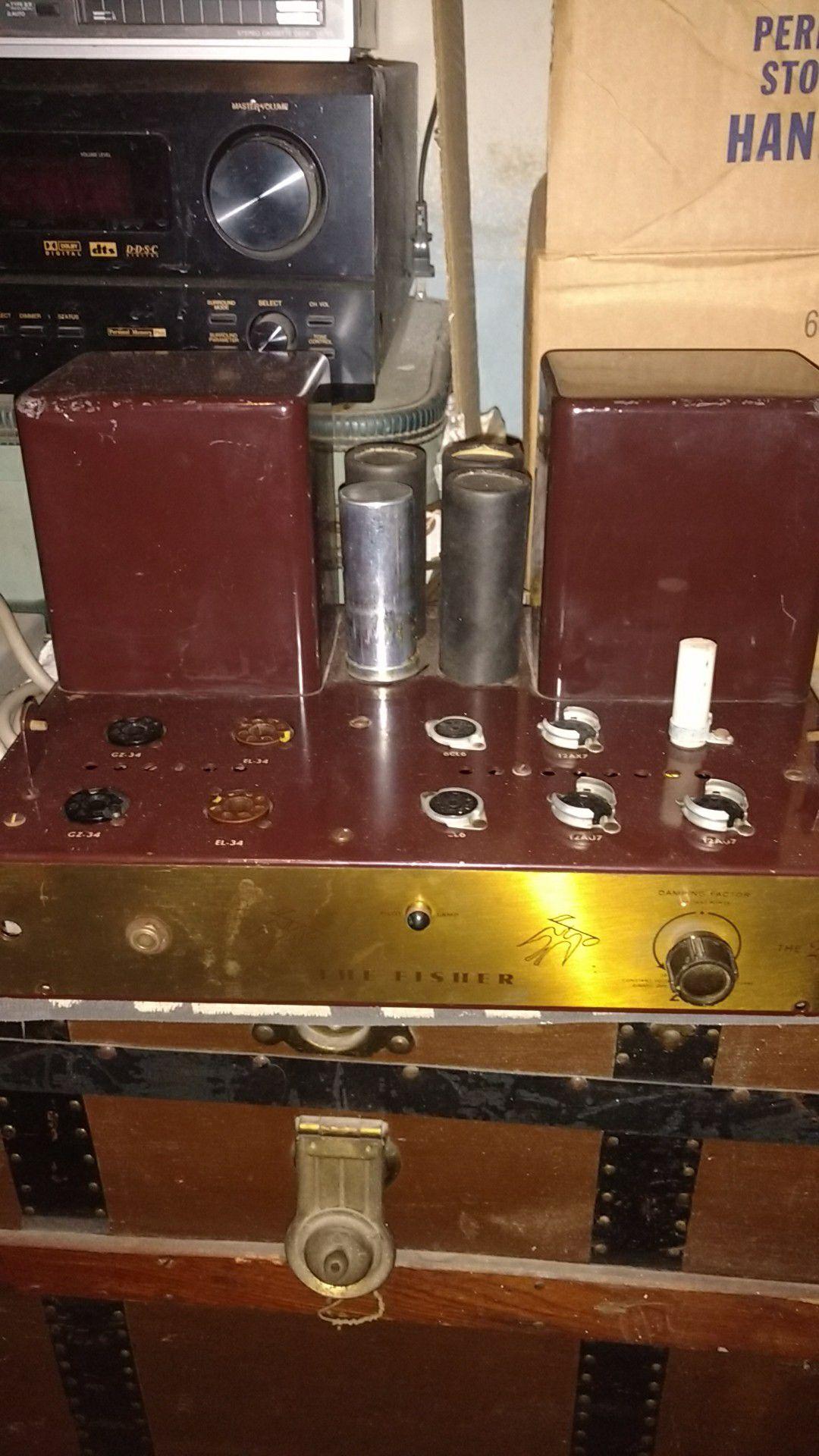 Fisher 200 tube amp