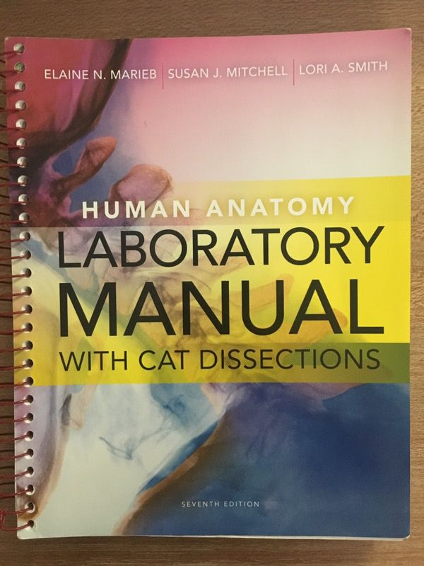 Human Anatomy Laboratory Manual w/Cat Dissection 7th Edition for ...