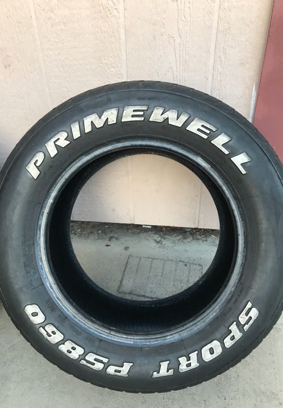 235 60r15 Primewell White Letter Tires For Sale In Oakland Ca Offerup