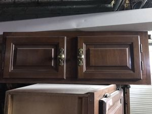 Cherry wall cabinet Kraftmaid 36x12x12 for Sale in Cleveland, OH