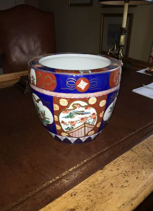 Hand painted Japanese planter for Sale in Atlanta, GA