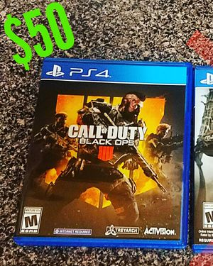 Call of Duty Black Ops for PS4 for Sale in District Heights, MD