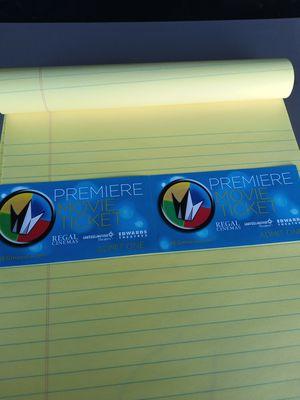 Regal cinemas 2 movie passes for Sale in North Las Vegas, NV