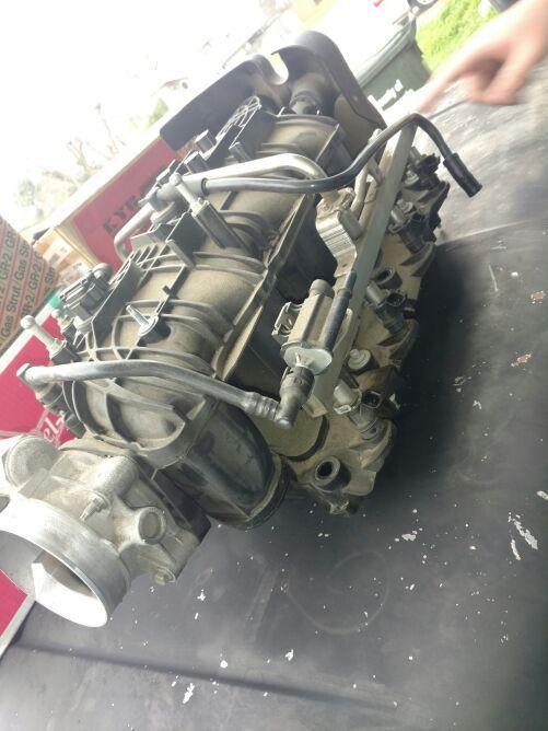 Chevy intake manifold