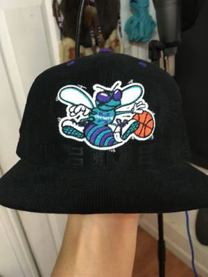 045ddaf05fa Brand New Mitchell and Ness Hornets SnapBack with cool pattern OBO for Sale  in San Francisco