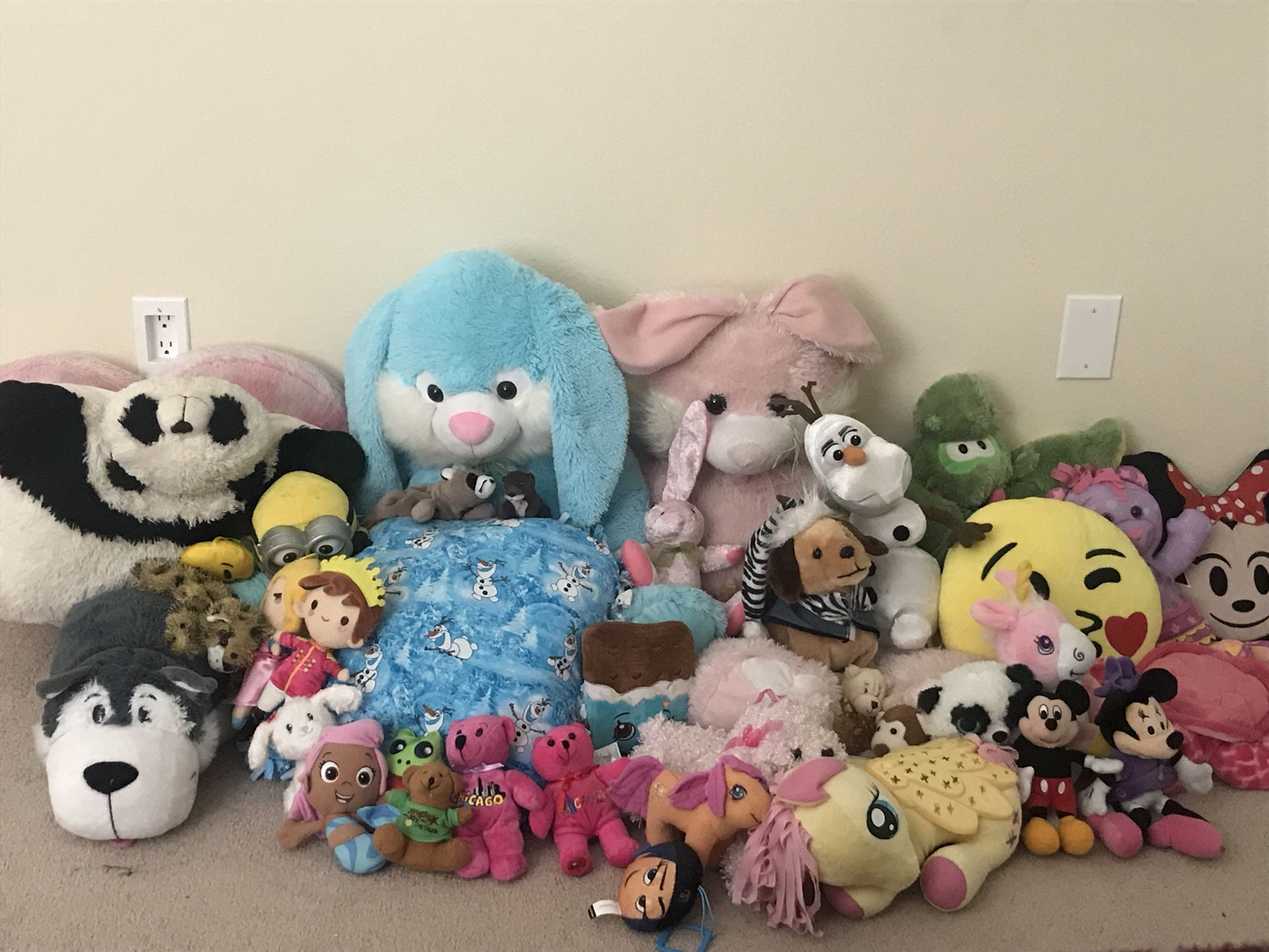 Stuffed Animal Collection, over 50 pieces!