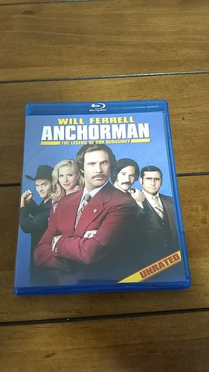 Anchorman Blu-ray DVD for Sale in Raleigh, NC