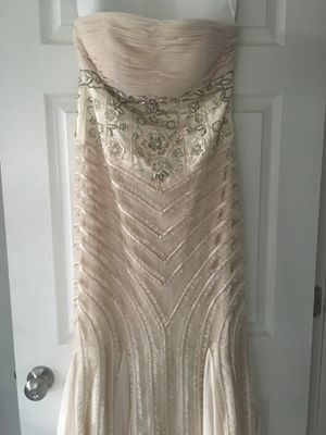 Designer dress Sue Wong. Size 4. Worn once. Retail $900. for Sale in Jacksonville, FL