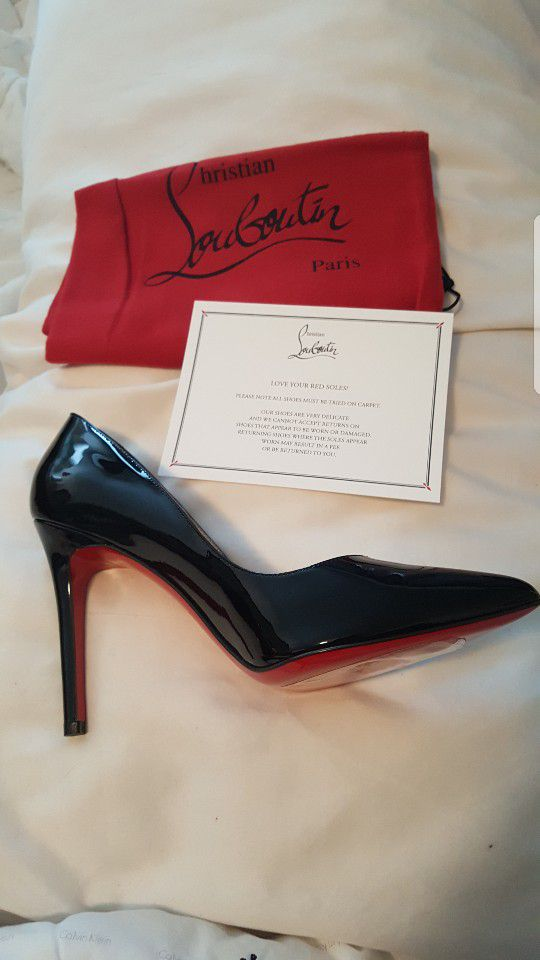 meet 5a2af cb1ee NEW Christian Louboutin Pigalle 100 patent calf for Sale in San Francisco,  CA - OfferUp