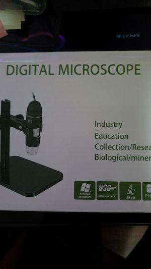 Digital USB Microscope. Windows xp/vista/7 usb 3.0 for Sale in Los Angeles, CA