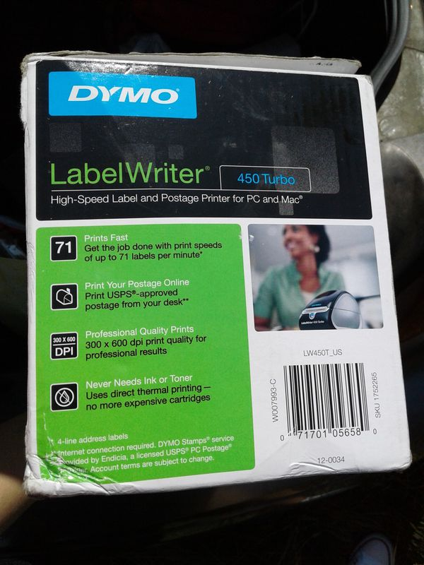 Dymo 450Turbo Label Writter $80 for Sale in San Jose, CA - OfferUp