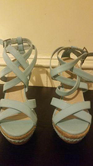 Sky blue shoes for Sale in Philadelphia, PA