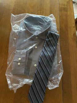 Men's dress shirt and tie Thumbnail
