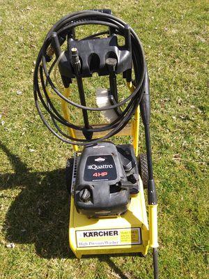 Photo Karcher 3300 pressure washer.
