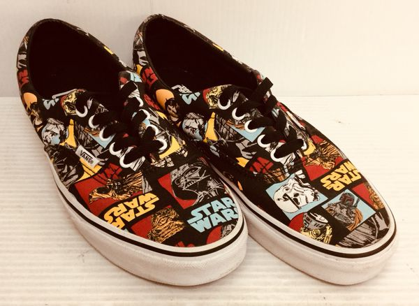 cda018adf7 MAN S VANS STAR WARS SHOES US SIZE 10 SNEAKERS WITH ORIGINAL BOX for ...