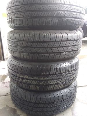 A set of Tires size 185 65 14 mark MICHELIN for Sale in Silver Spring, MD