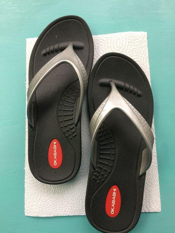 e5a66fc4e Okabashi flip flops for Sale in Irving