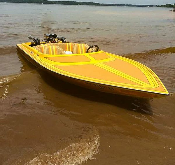 Pontoon Boat Seats For Sale >> 1977 TAHITI 18FT JET BOAT for Sale in Kansas City, MO ...