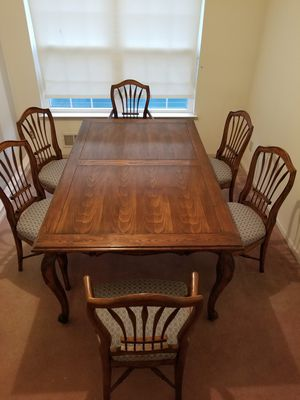 Ethan Allen French Heritage Dining Room Table 6 Chairs For Sale In Hamilton Township
