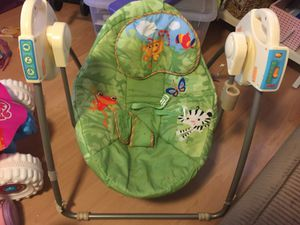 Fisher price jungle theme swing (foldable) for Sale in Scottsdale, AZ
