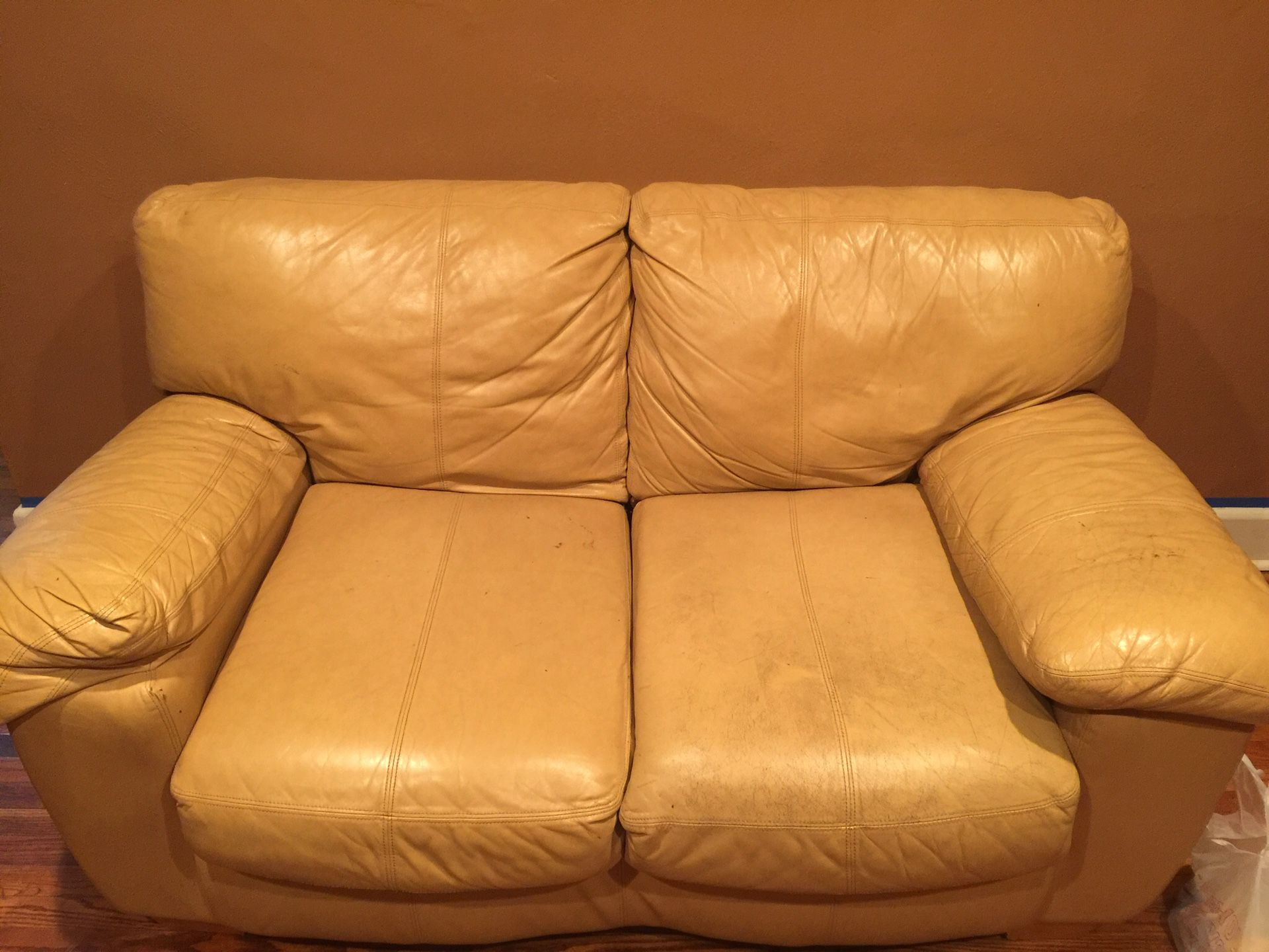 Chair and love seat 200.00