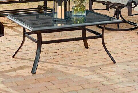 New Hampton Bay Steel Outdoor Coffee Table For Sale In Parma Oh