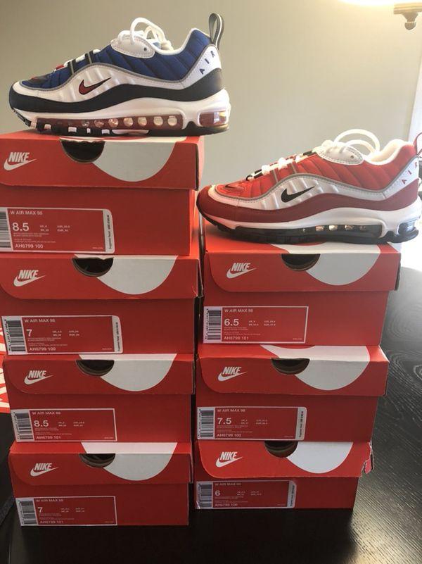 Nike Air Max 98 GUNDAM & GYM RED Women Sizes for Sale in Decatur, GA OfferUp