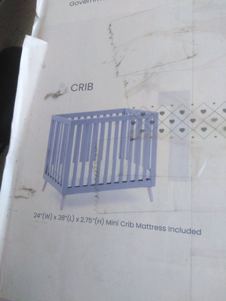 Nib Convertible Crib
