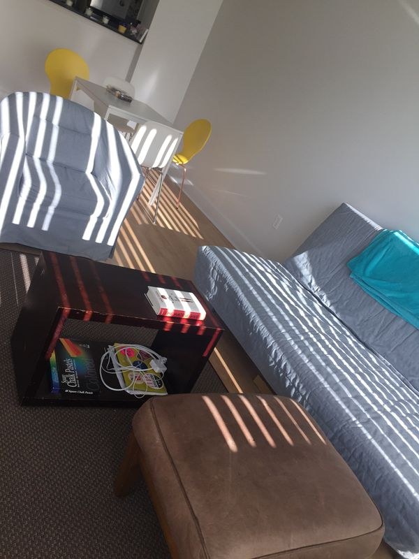 Ikea futon with storage compartment for sale in seattle for Ikea renton hours
