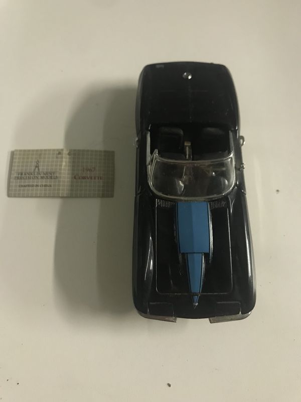 Franklin Mint 1967 Corvette with Tags for Sale in Orlando, FL - OfferUp