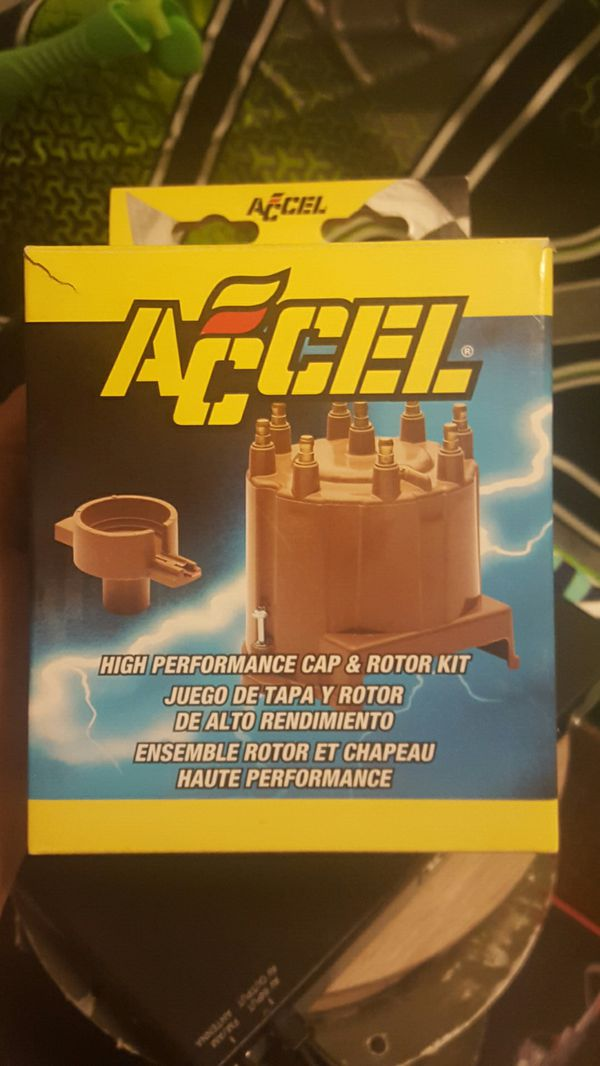 Accel distributor cap and rotor for GM V8 for Sale in Las Vegas, NV -  OfferUp