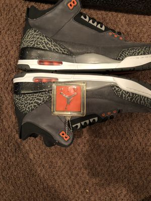 """Jordan retro 3 """"fear pack"""" new with Og box authentic size 12 for Sale 040a4a794"""
