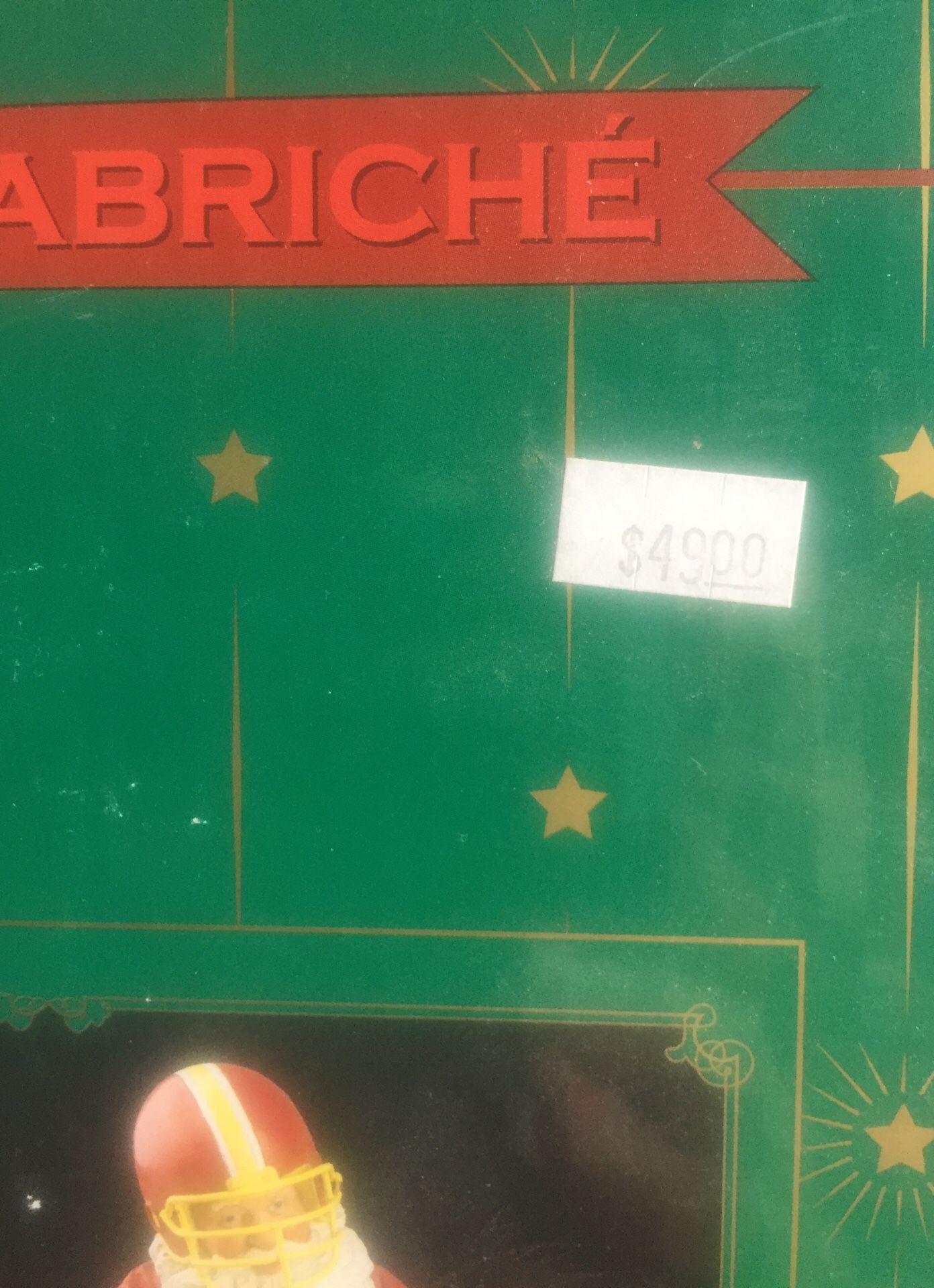 Santa soccer collectible