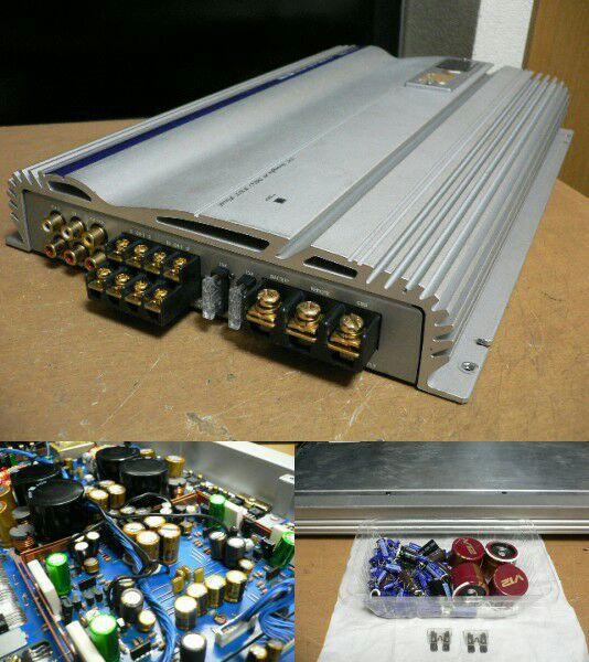Alpine Mrv F505 4 Channel Sq Amplifier Modded For Sq Oldschool