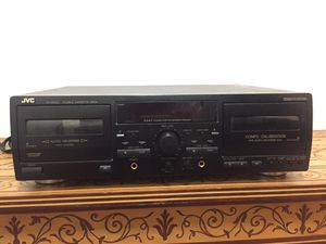 JVC TD-354 Component Stereo Dual Tape Deck JVC TD-354 Component Stereo Dual Tape Deck in good condition. Needs new home! for Sale in Seattle, WA