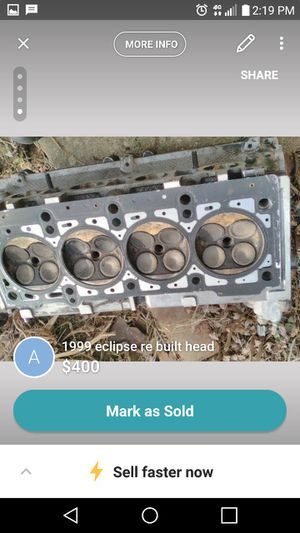 99 Mitsubishi eclipse rebuilt head for Sale in TN, US