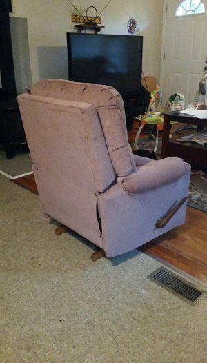 Pink recliner for Sale in Powhatan, VA