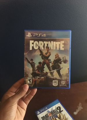 Fortnite Ps4 Disc 40 For Sale In Puyallup Wa Offerup