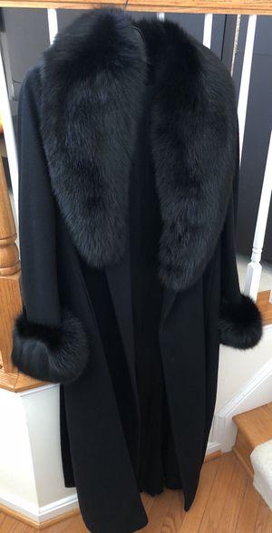Authentic Saks Fifth Avenue Sheared Mink Coat Black Size US 12 for Sale in Lorton, VA