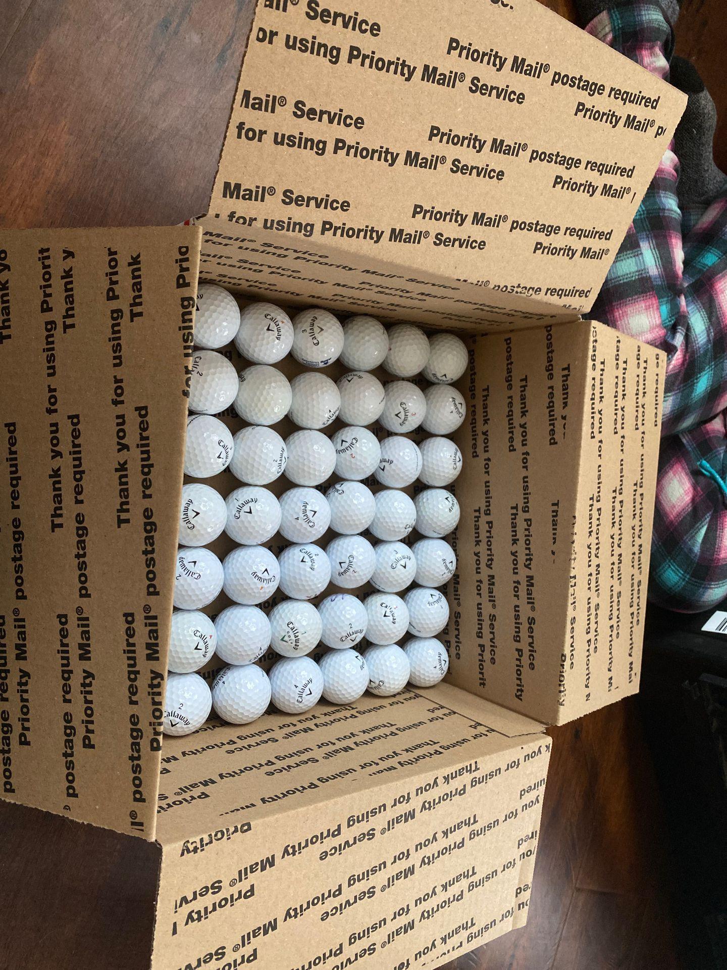 Golf balls Calloway hex tour soft48 balls $30