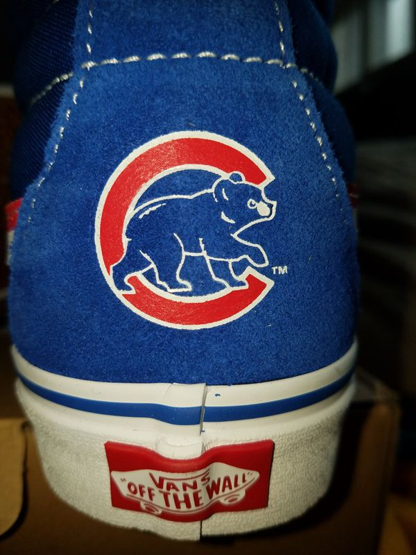 17cac3a8217 Vans x MLB x Chicago Cubs Shoes   Authentic   for Sale in Niles