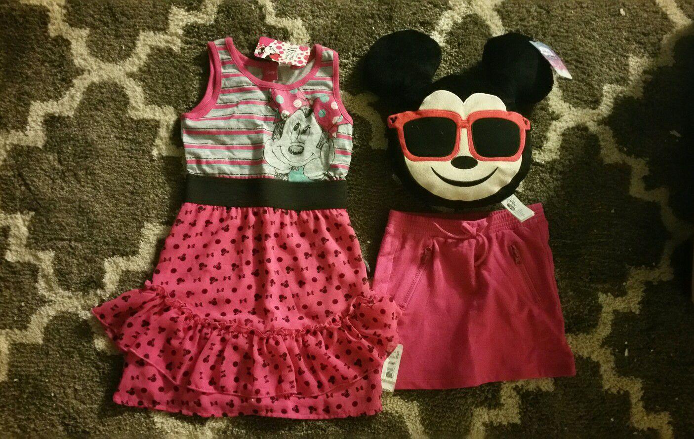 Disney Minnie Mouse girl dress S (6/6X)