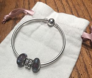 Pandora bracelet with charms for Sale in Rockville, MD