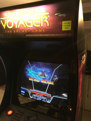 Gorgeous & collectible Star Trek Voyager arcade machine for Sale in  Brewster, NY - OfferUp
